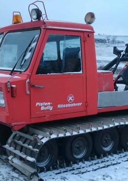 Chenillette Kassbohrer PB145 2m85 diesel