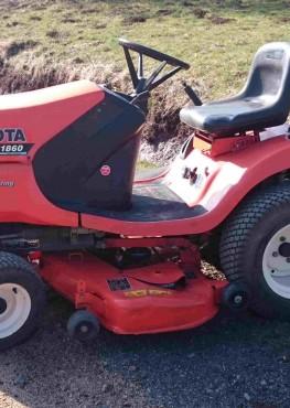 Tracteur tondeuse Kubota TG1860 Diesel