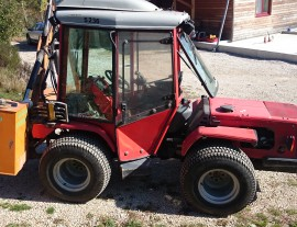 CARRARO HTM 8400 Supertrac articulé